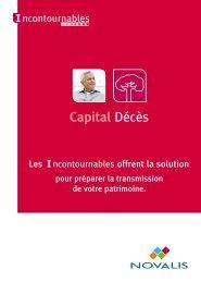 Capital Décès - Novalis Taitbout