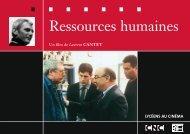 Ressources humaines - Bibliothèque du film