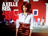 ROUGE ARDENT (INTO THE WILD). - Axelle Red