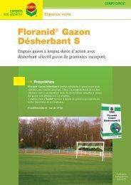 Floranid® Gazon Désherbant S Propriétés - COMPO EXPERT