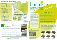 Télécharger la Lettre d'Infos n°10 - Hortalis