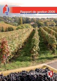 Rapport de gestion 2009 - La Tour-de-Peilz