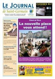 La nouvelle place vous attend - Saint Germain-en-Laye
