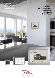 KNX Touch-Panel 7 - Feller Clixx - Feller AG