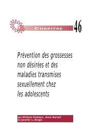 Prévention des grossesses non désirées et des maladies ...