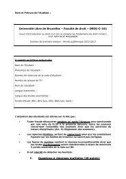 Faculté de droit – DROI-C-101 I. Questions à réponses multiples (20 ...