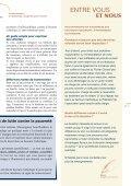 Lettre d'information n° 7 : l'organisation de - Secours catholique ... - Page 3
