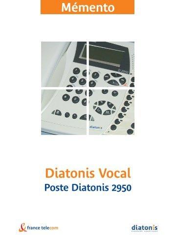 Fiche Poste D2950 - Assistance Orange