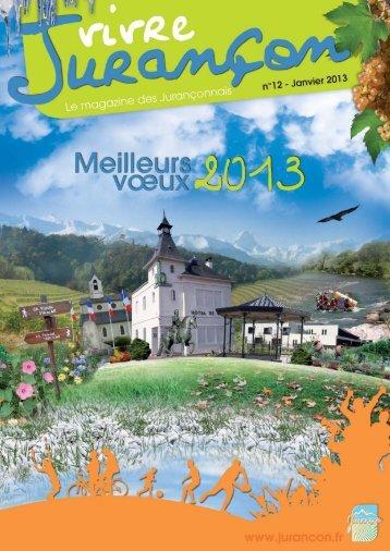cf. dernier magazine municipal - Mairie de Jurançon