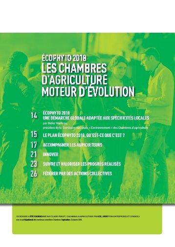 Les chambres d 39 agriculture moteur d 39 volution for Chambre d agriculture aquitaine