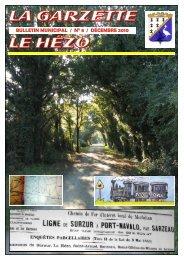 Vie Locale - Le Hézo