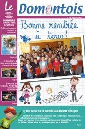 Septembre - Mairie Domont