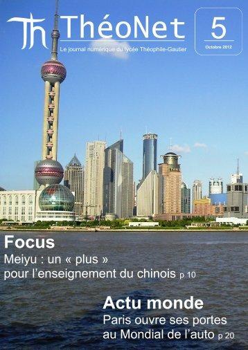 Actu monde Focus