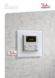 zeptrion – sistema per luci e tende - Feller Clixx - Feller AG