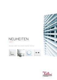 NEUHEITEN - Feller Clixx - Feller AG
