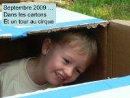 08/2009 Ma nouvelle maison