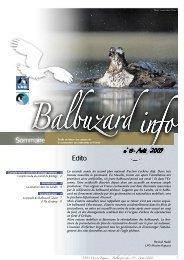 Balbuzard info n°19 - LPO Mission rapaces