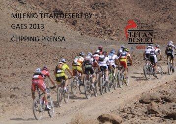 Descargar Clipping Prensa 2013 - Titan Desert