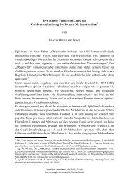 Der Staufer Friedrich II. und die Geschichtsschreibung des 19. und ...