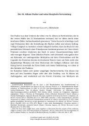 Der St. Albans Psalter und seine liturgische Verwendung