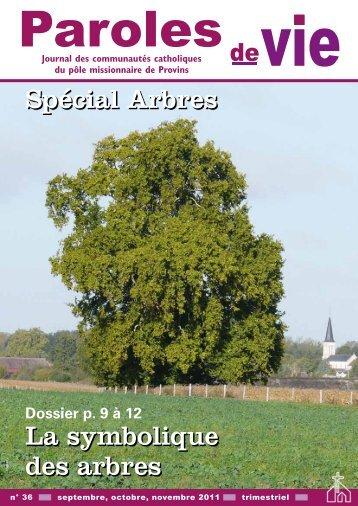La symbolique des arbres Spécial Arbres - Pôle de Provins