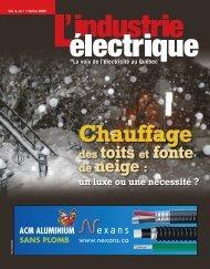 Chauffage des toits et fonte de neige - Electrical Business Magazine