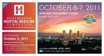 OCTOBER 6-7, 2011