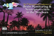 Neonatal Brain Monitoring