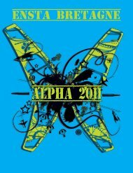 Plaquette Alpha 2011 Web.pdf - ENSTA Bretagne