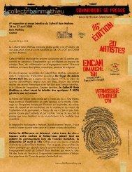 communiqué presse CBM - Bain Mathieu