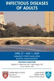 INFECTIOUS DISEASES OF ADULTS - CME
