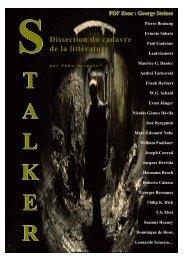 Essai sur l'oeuvre de George Steiner - Stalker