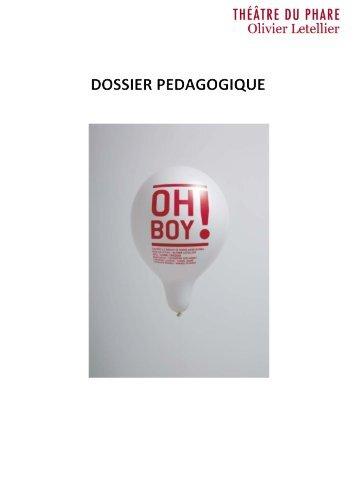 Dossier pédagogique Oh Boy - Espace des Arts