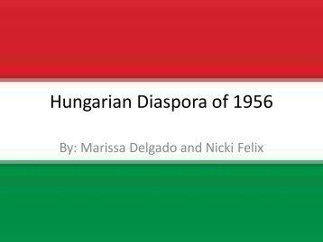 Hungarian Diaspora of 1956