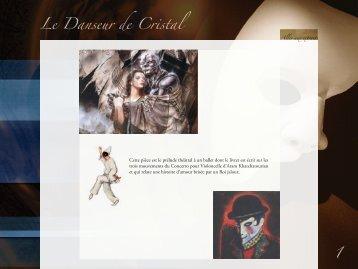 Le Danseur de Cristal 1 - site de Pascal Delaunay