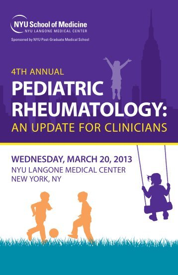 PEDIATRIC RHEUMATOLOGY: