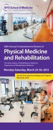 38th Annual Comprehensive Review Of Physical Medicine And