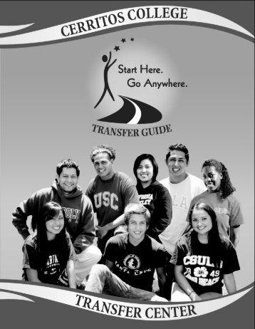 Transfer Timeline - Cerritos College