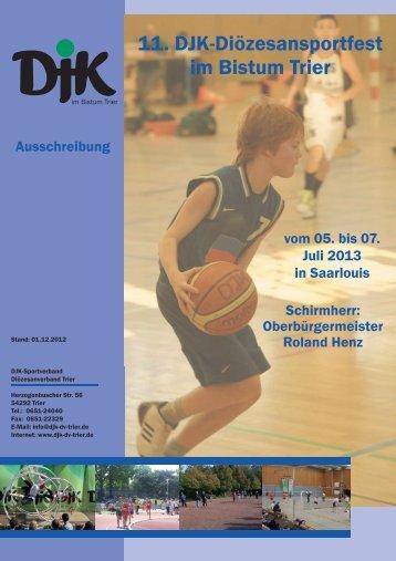 Diözesansportfestes in Saarlouis - DJK Saarlouis-Roden Abt ...