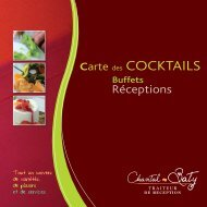 carte cocktails_100311.indd - Chantal-Baty-Traiteur