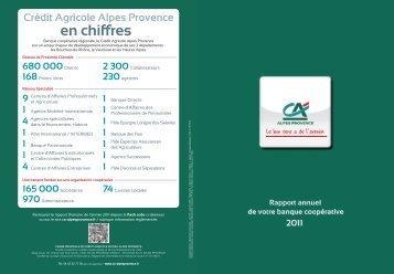 en chiffres - Crédit Agricole Alpes Provence