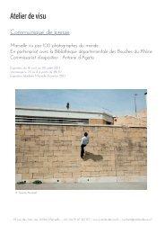 presse 100 photographes.indd - Espace Culture