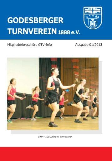 Mitglieder-Info 1/2013 - beim Godesberger Turnverein 1888 eV