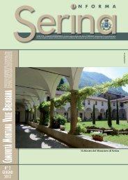 SERINA giugno 2012 - Comune di Serina