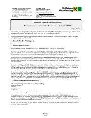 Merkblatt zur Pension & Garantie Zukunftsvorsorge - hyperCMS