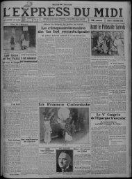 17 décembre 1934 - Bibliothèque de Toulouse