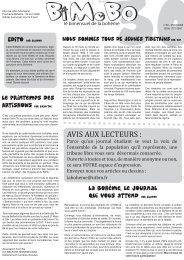 Le Printemps des La Bohème, le journal qui vous attend par Gladon ...