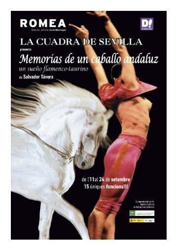 Memorias de un caballo andaluz - Grup Focus