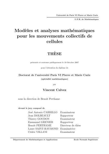 These Argument Exemple Exercices Corriges - Titre De La Thèse