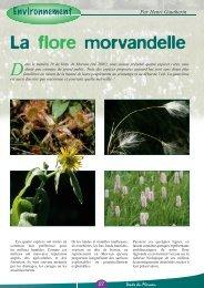 La flore morvandelle - Vents du Morvan